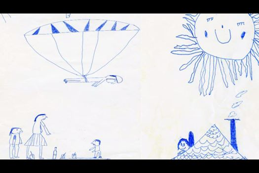 Felix-Baumgartner-tekening
